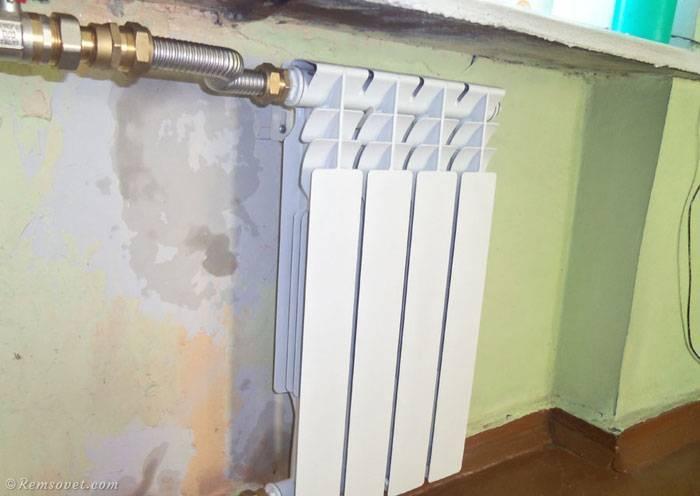 Как снять радиатор отопления - всё об отоплении и кондиционировании