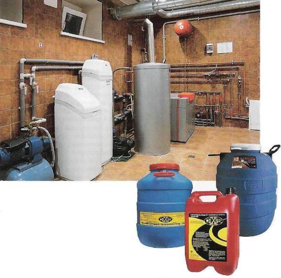 Использование тосола в системе отопления дома, в гараже