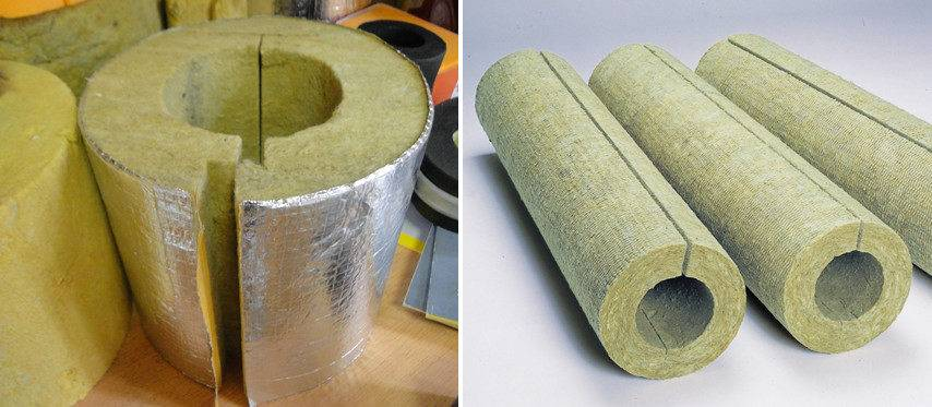 Что такое утеплитель «скорлупа для труб» и как он монтируется