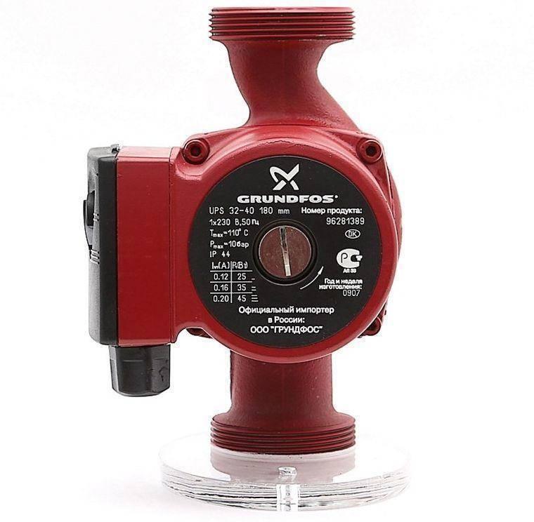 Насос циркуляционный grundfos для систем отопления, характеристики оборудования грундфос