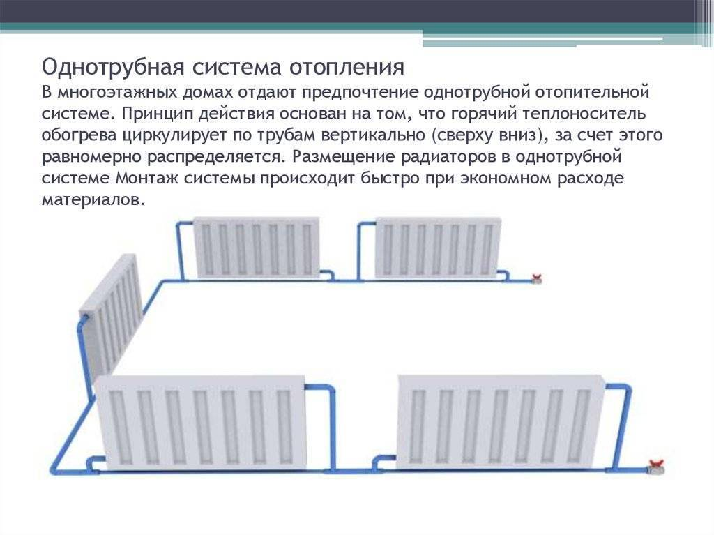 Какая система отопления лучше однотрубная или двухтрубная - znayteplo.ru