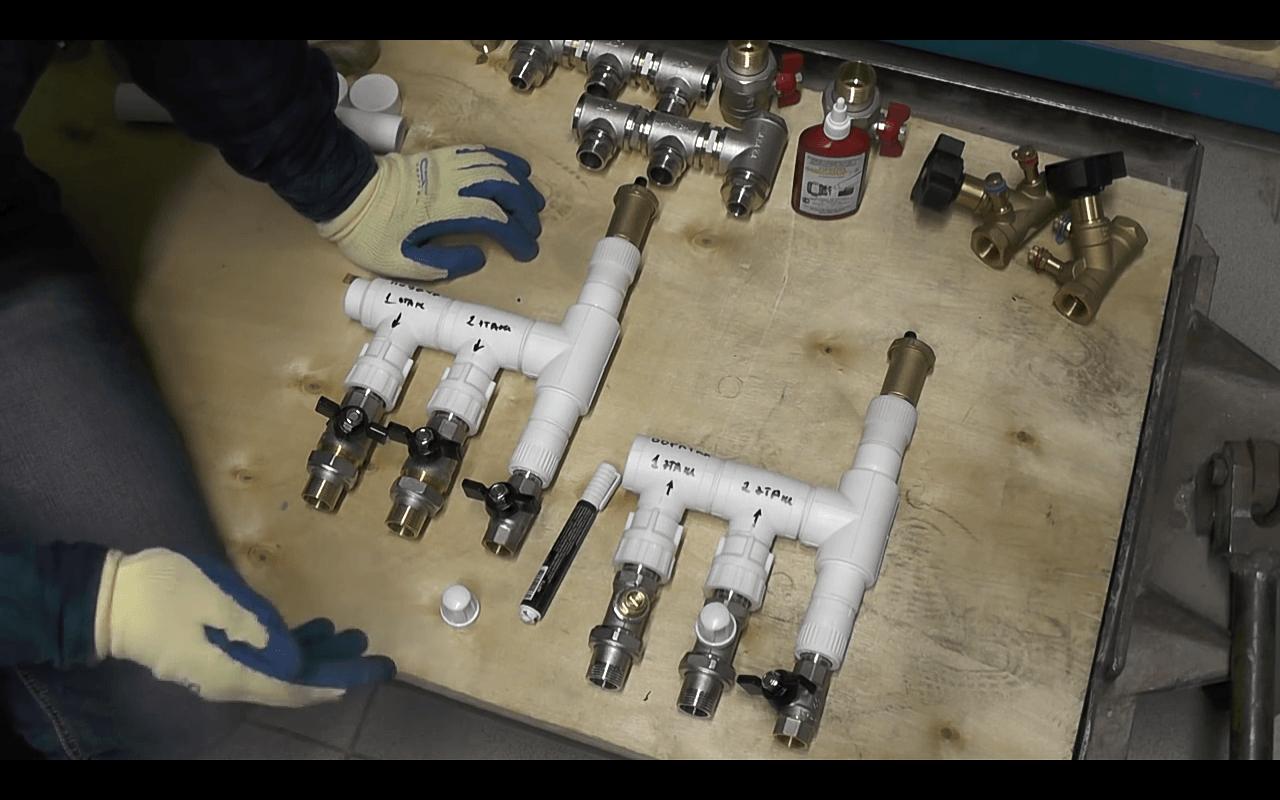 Коллектор отопления своими руками, как сделать прибор из полипропилена для отопительной системы дома, самодельное изготовление