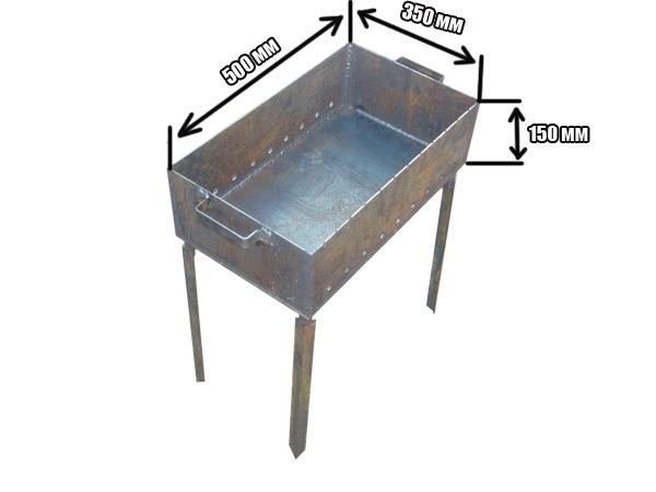 Как своими руками сделать мангал из металла