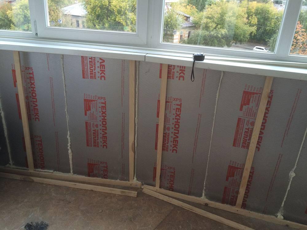 Как утеплить балкон пеноплексом своими руками. пошаговая инструкция с фото