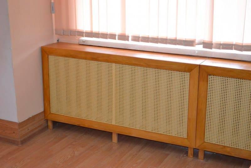 Решетки для радиаторов отопления своими руками, какие выбрать: деревянные, пластиковые или пвх, преимущества накладных и защитных экранов, фотографии :видео