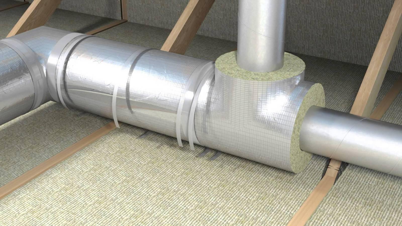Теплоизоляция для труб отопления - чем изолировать, какие материалы использовать