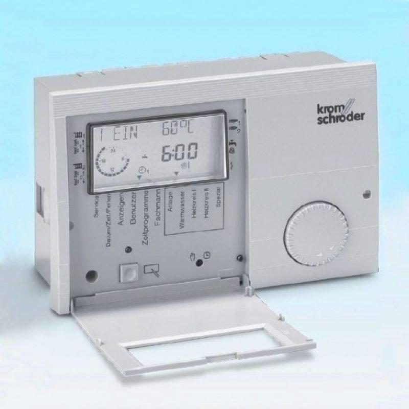 Погодозависимая автоматика систем отопления