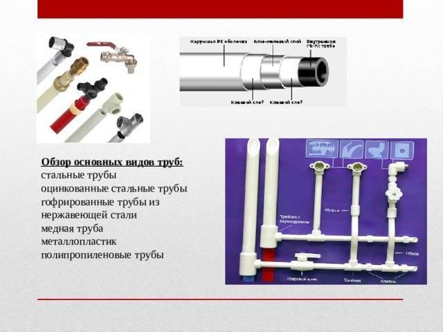 Какие трубы лучше для водопровода металлопластик или полипропиле vodatyt.ru