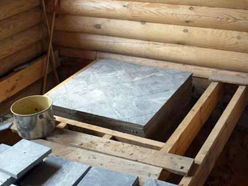 Фундамент для камина - как сделать своими руками