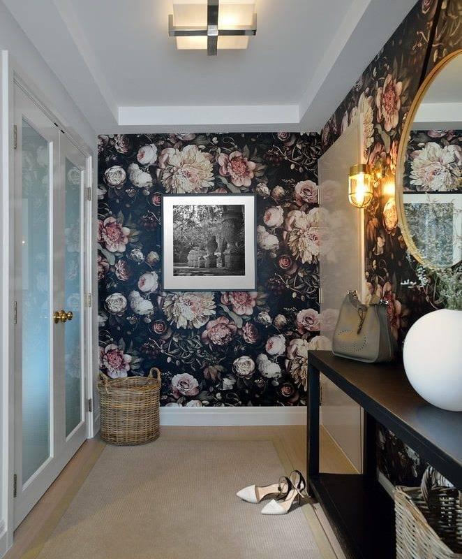 Обои в прихожую: 70 фото и советы как подобрать цвет и узор | обои в интерьере прихожей и коридора
