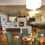 Проекты домов с печным отоплением: достоинства и недостатки, планировки, фото