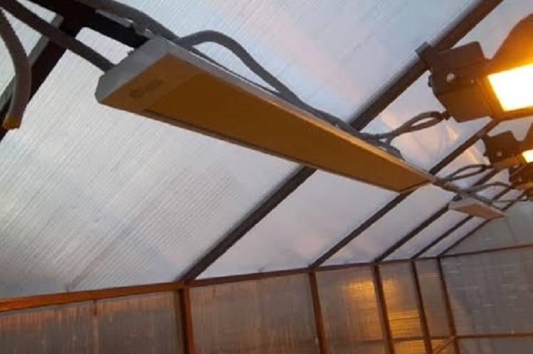 Обогреватели для теплиц: виды, какие выбрать, инфракрасные, газовые, потолочные, отзывы