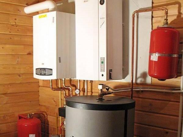 Отопление загородного дома баллонным газом