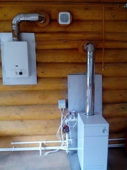 Замена газового котла в доме согласно документам и техническим условиям