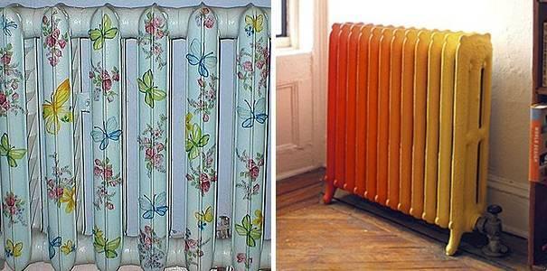 Как и какой краской покрасить старую, горячую, чугунную батарею?