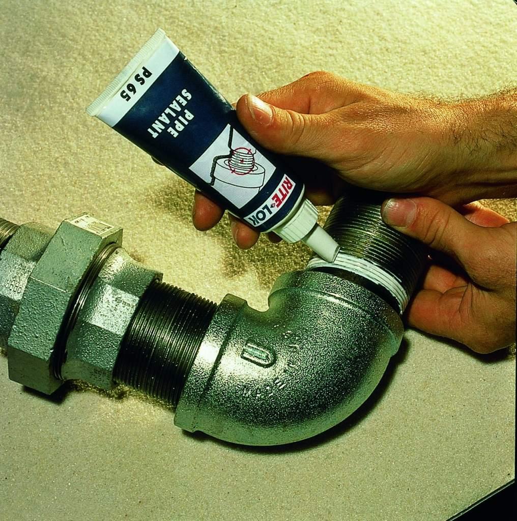 Герметизация резьбовых соединений систем отопления