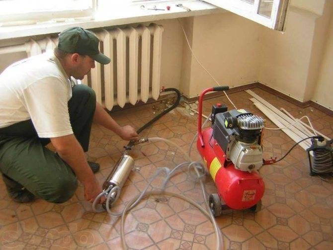 Как промыть чугунные батареи отопления: промывка в домашних условиях, как почистить, прочистить внутри своими руками