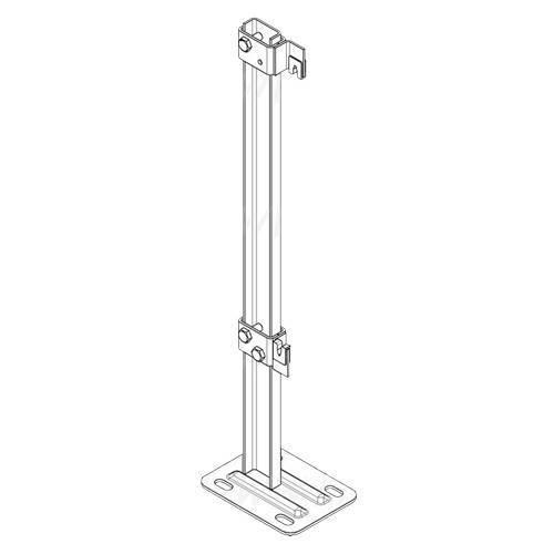 Красивый дизайн и высокая надежность — повод выбрать напольный кронштейн для радиатора отопления