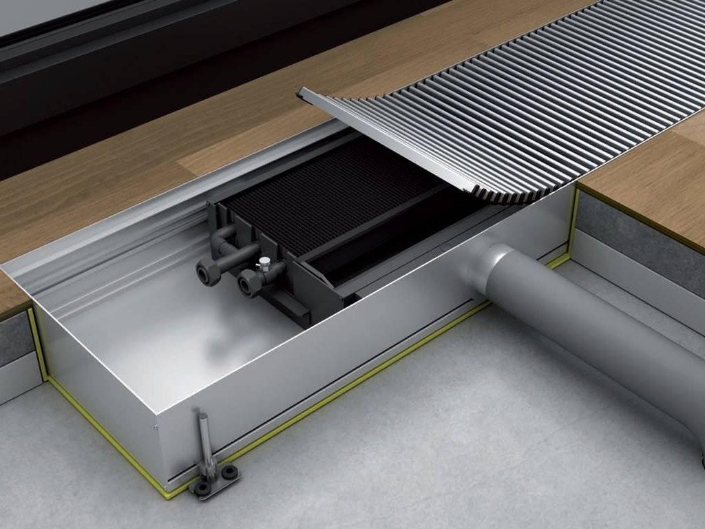 Типы конвекторов встраиваемых в пол дома | отопление дома и квартиры