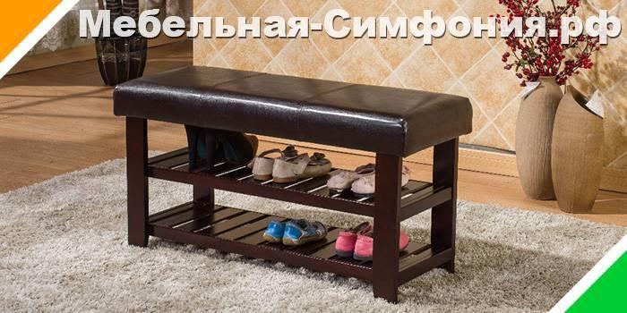 Варианты выбора стиля и дизайна банкетки с сиденьем для прихожей