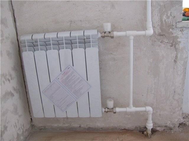 Принципы подключения радиатора отопления к полипропиленовым трубам