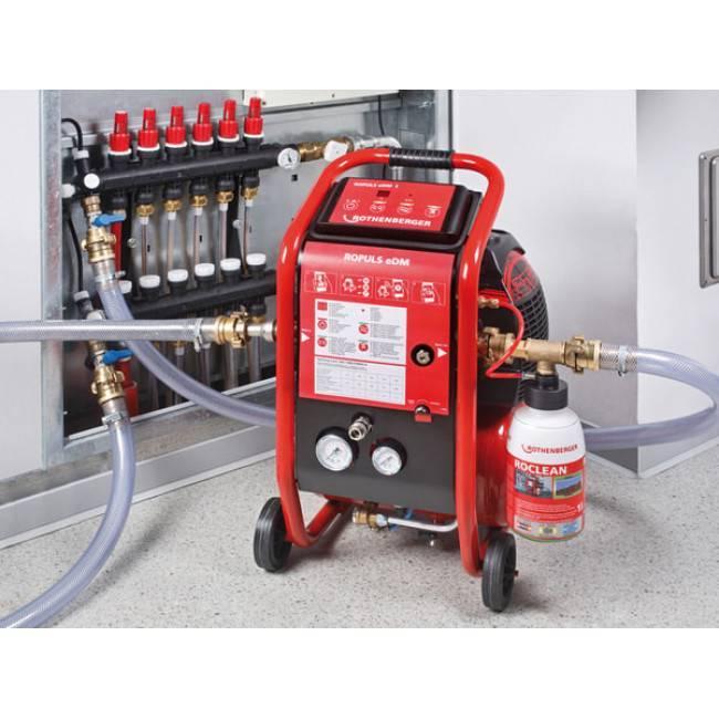 Компрессор для промывки системы отопления: нужные средства и оборудование, реагент