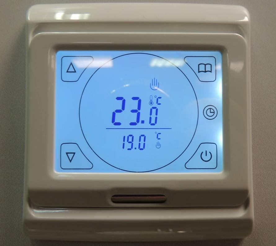 Особенности подключения теплого пола к терморегулятору и электричеству