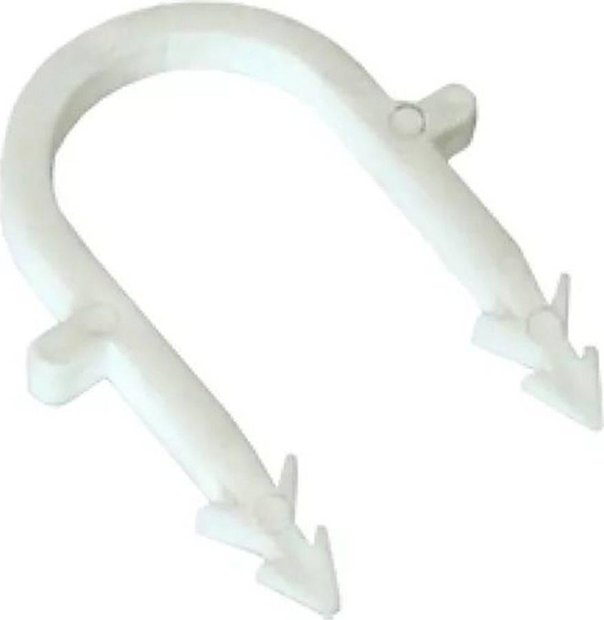 Крепление труб тёплого пола: крепёжный материал