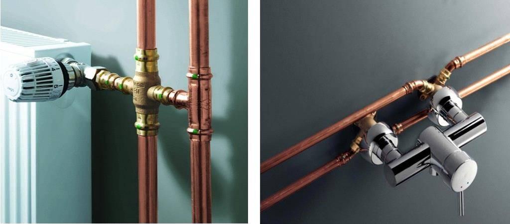 Виды и выбор труб для системы отопления частного дома