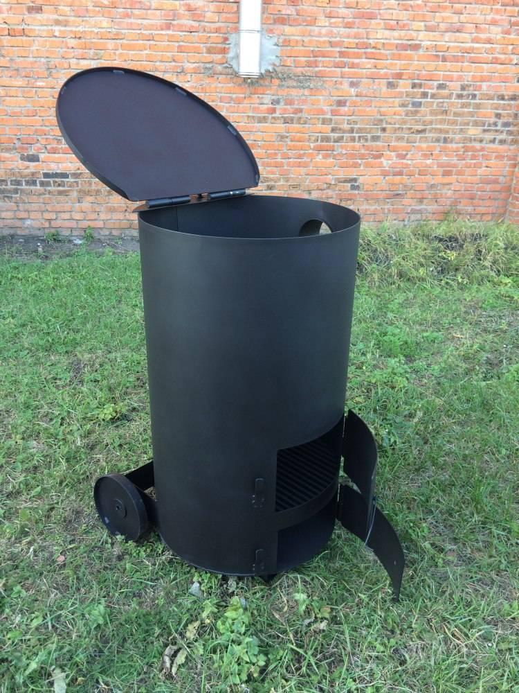 Как сделать печь для сжигания мусора на даче собственными руками