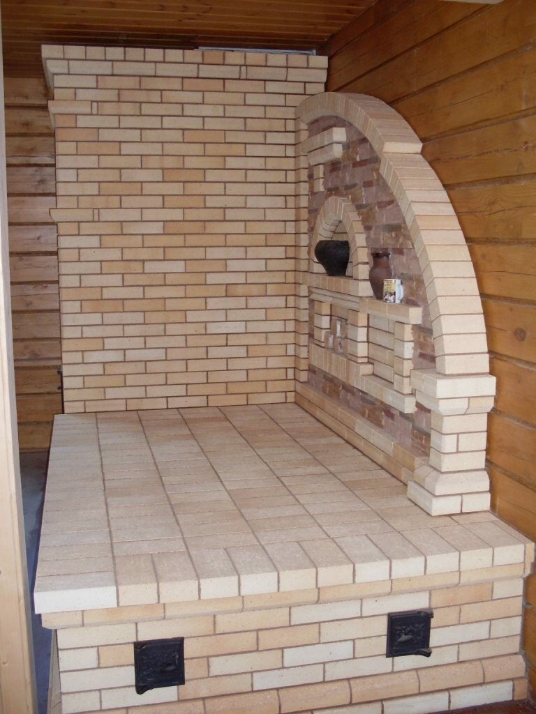Как устроена русская печь с лежанкой – конструкция, схема кладки своими руками