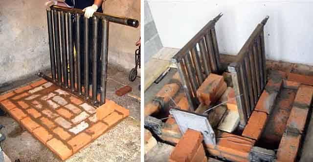 Водяное отопление от печи на дровах: как сделать | строй советы
