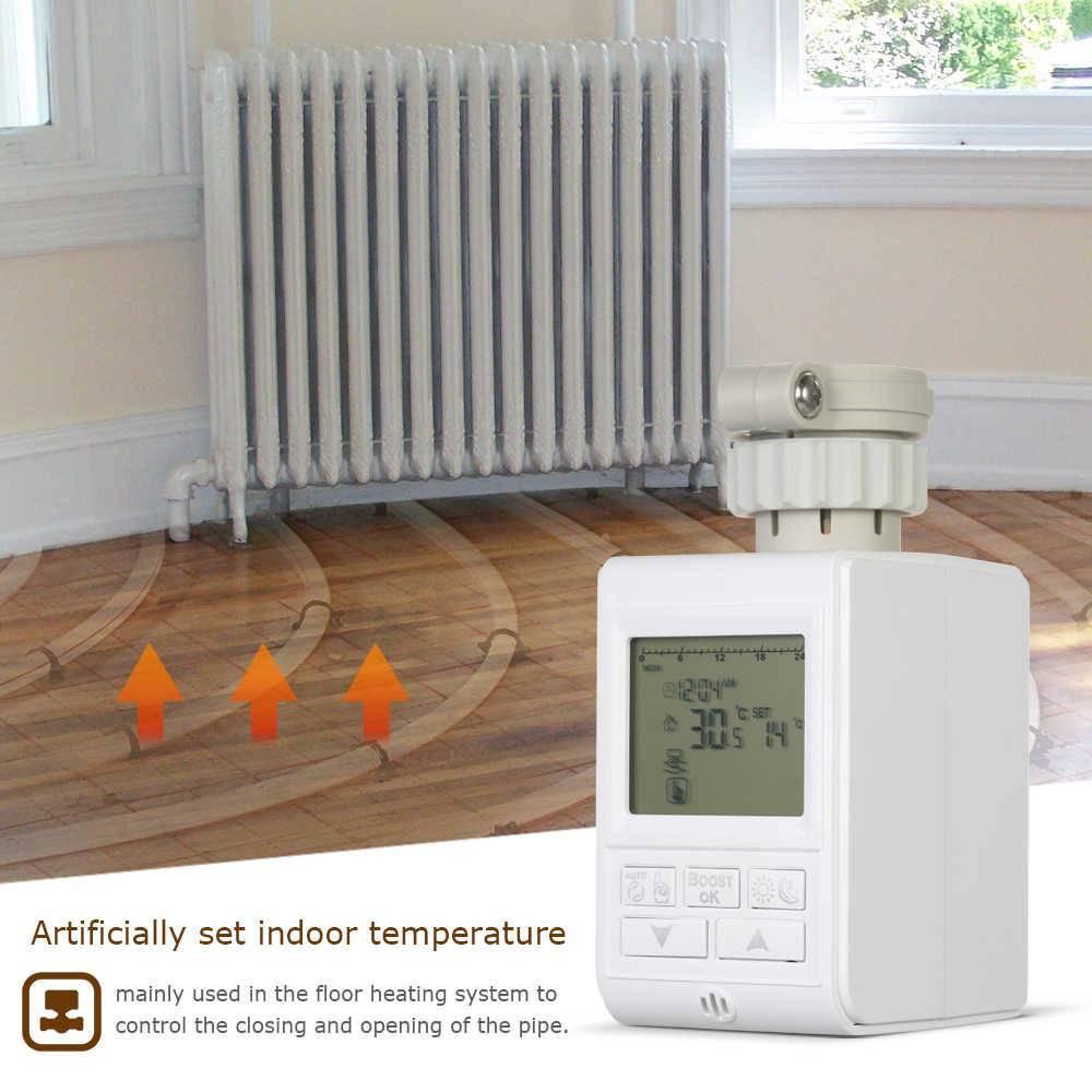 Электрический терморегулятор для регулировки температуры отопления