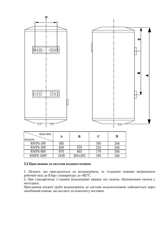 Водонагреватели накопительные электрические поларис