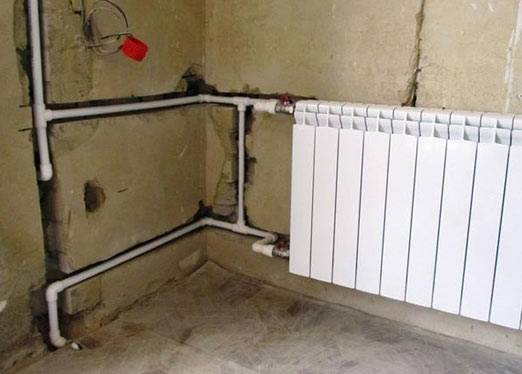 Прокладка трубопроводов отопления по правильной схеме