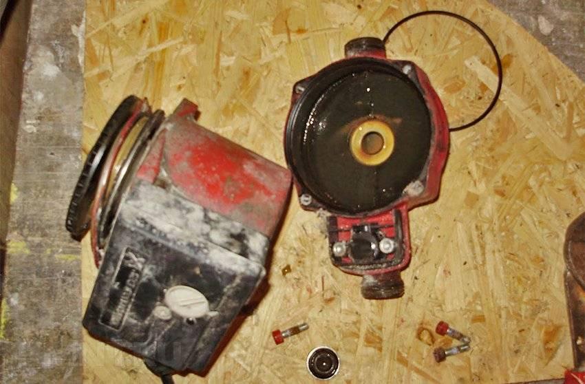Циркуляционный насос для отопления как отремонтировать