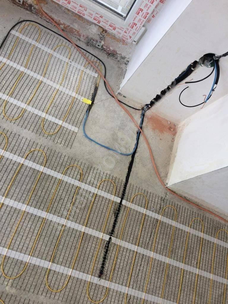 Как самостоятельно сделать монтаж теплого электрического пола. пошаговая инструкция