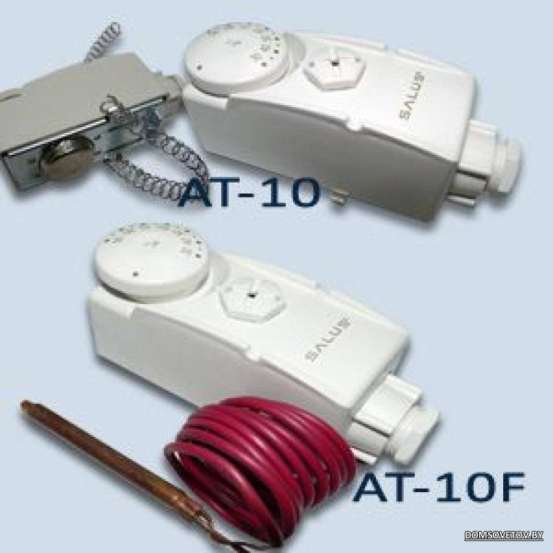 Комнатный термостат для газового котла отопления: выбор и установка