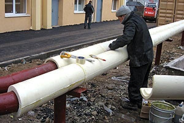 Теплоизоляция для труб отопления и водоснабжения