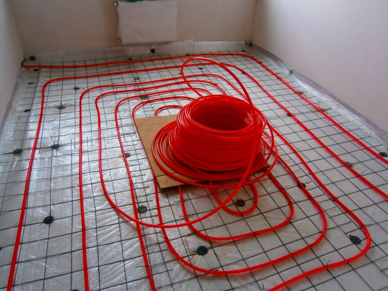 Укладка трубы для теплого пола: подробная инструкция по монтажу отопительной системы