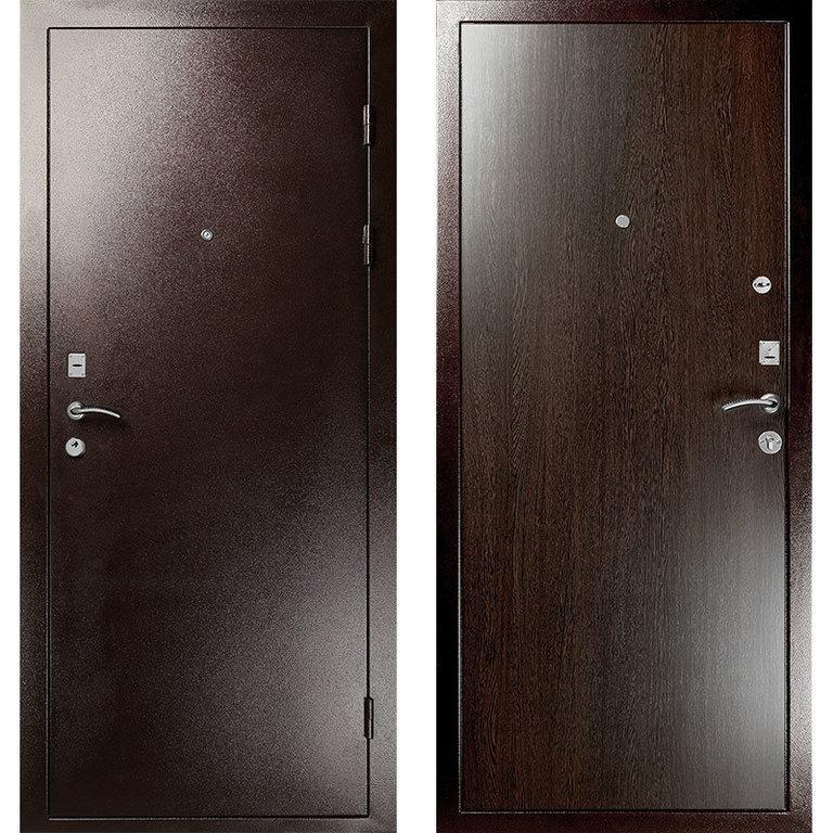 Размеры входных металлических дверей с коробкой – существующие стандарты и варианты замера