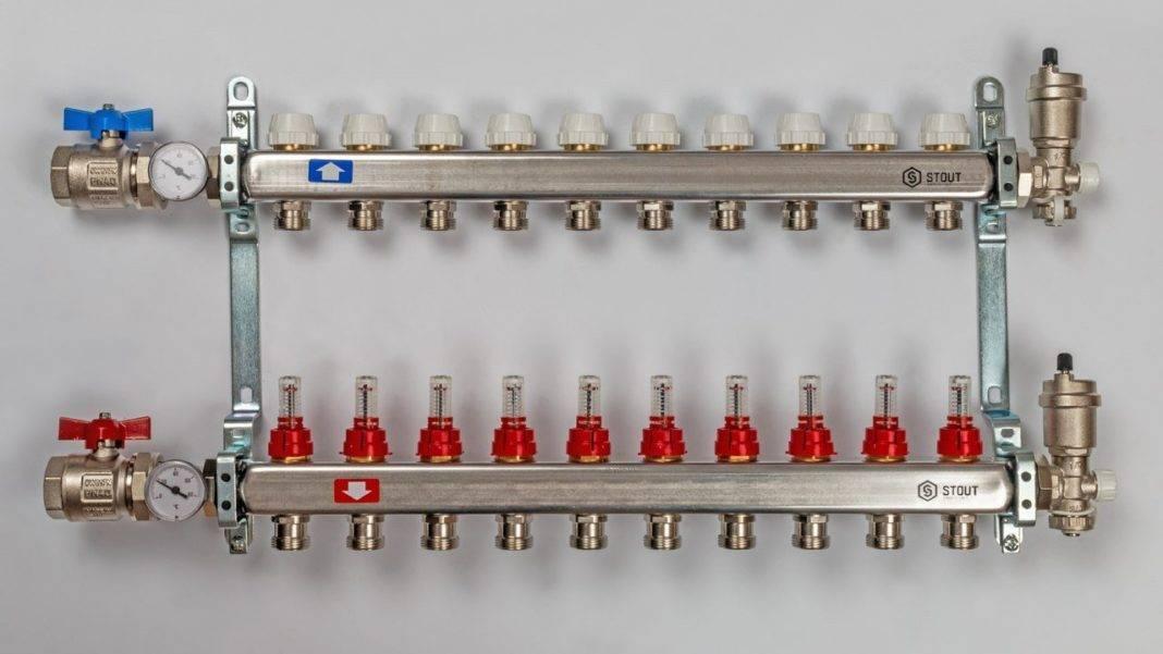 Как выбрать распределительный коллектор отопления – виды, особенности, различия