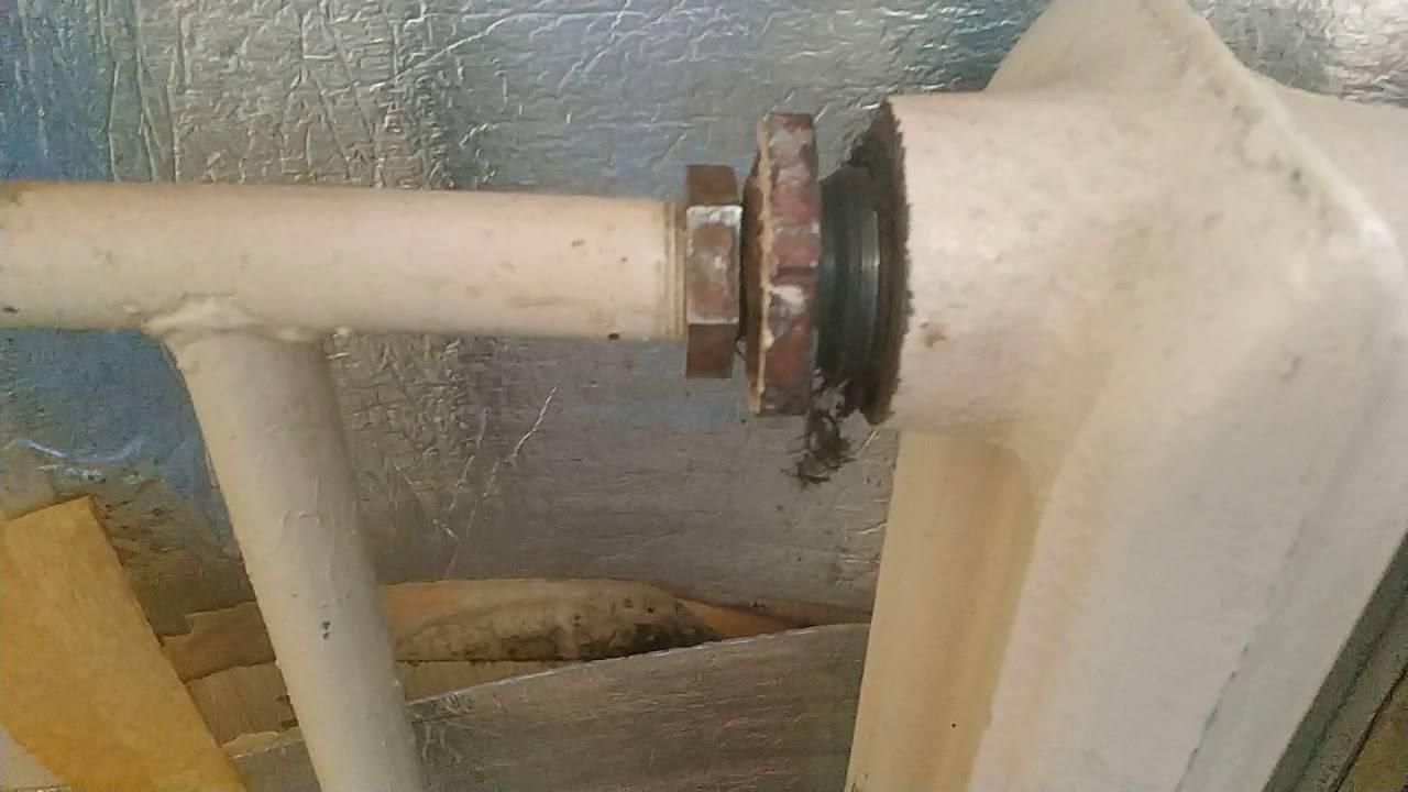 Как осторожно снять батарею отопления в квартире без затопления соседей