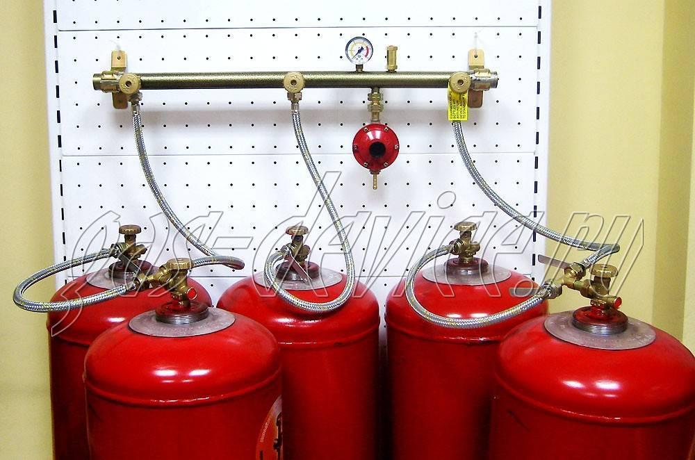Отопление дома газовыми баллонами - простое решение по старинке