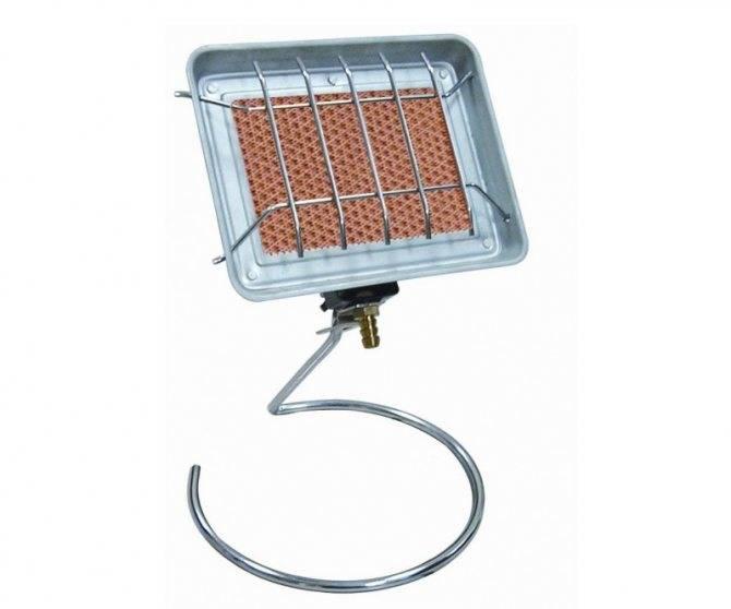Как выбрать газовый обогреватель для дачи: уличный прибор