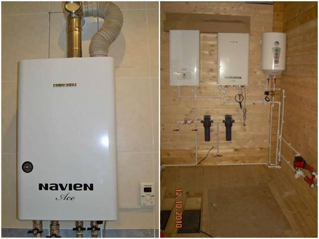 Настенный двухконтурный газовый котел navien - какая модель лучше?