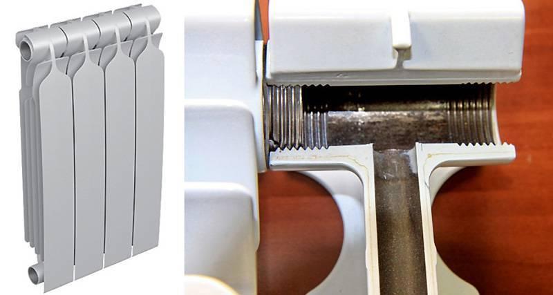 Как разобрать батарею отопления по секциям: работа с алюминиевыми, биметаллическими и чугунными изделиями