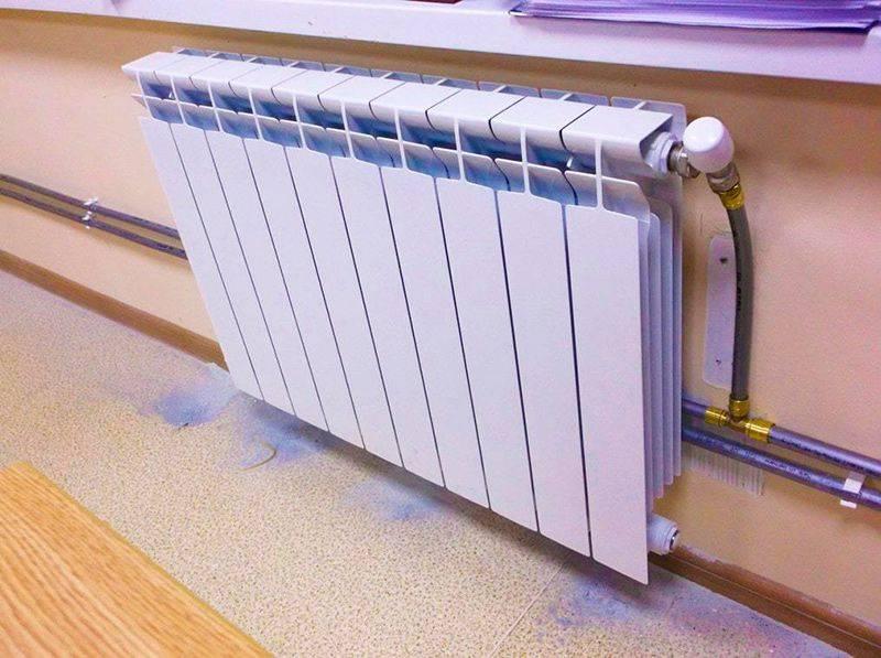 Правильная эксплуатация батареи центрального отопления
