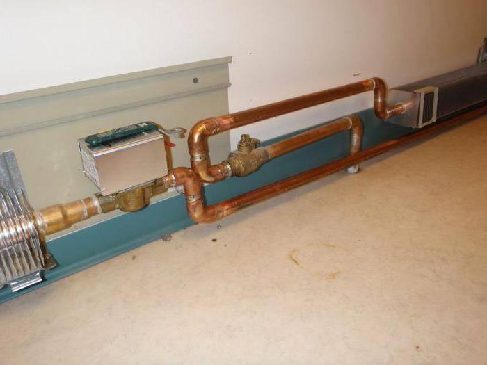 Тёплый плинтус: что собой представляют плинтусные радиаторы отопления и как их правильно монтировать