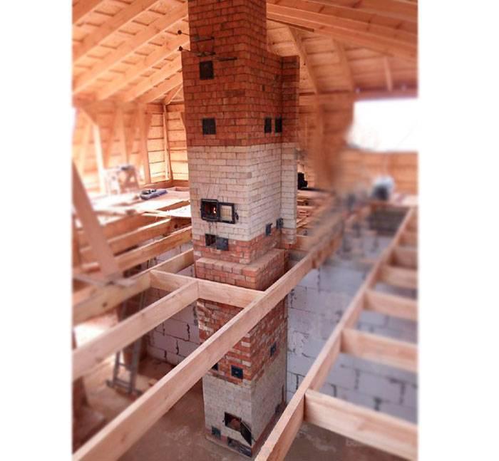 Схема отопления двухэтажного дома - разновидности и руководство по монтажу